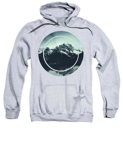 In The Shadow Of The Mountain Sweatshirt