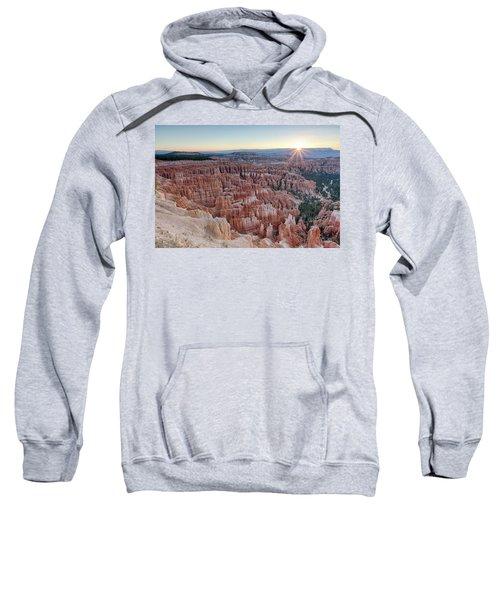 Inspiration Point Sunrise Bryce Canyon National Park Summer Solstice Sweatshirt