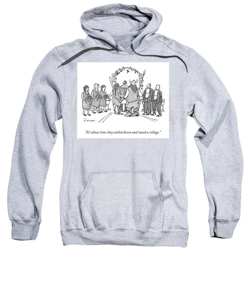 It's About Time Sweatshirt