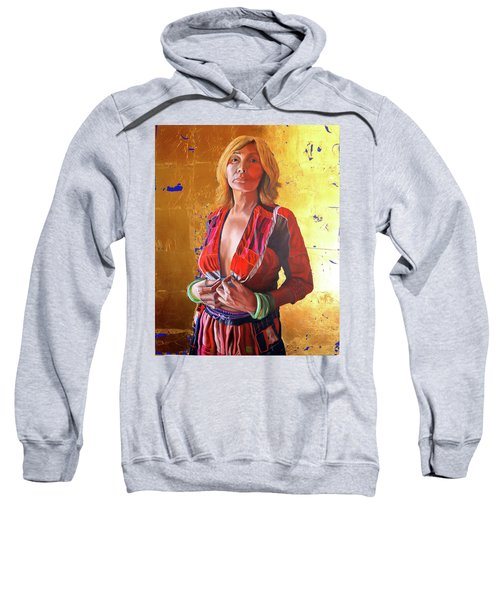 Jade Lady  Life On The Edge Sweatshirt