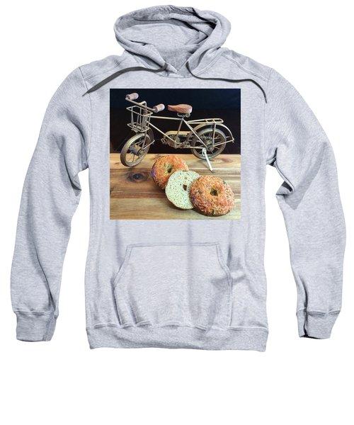 Jalapeno Cheddar Sourdough Bagels Sweatshirt