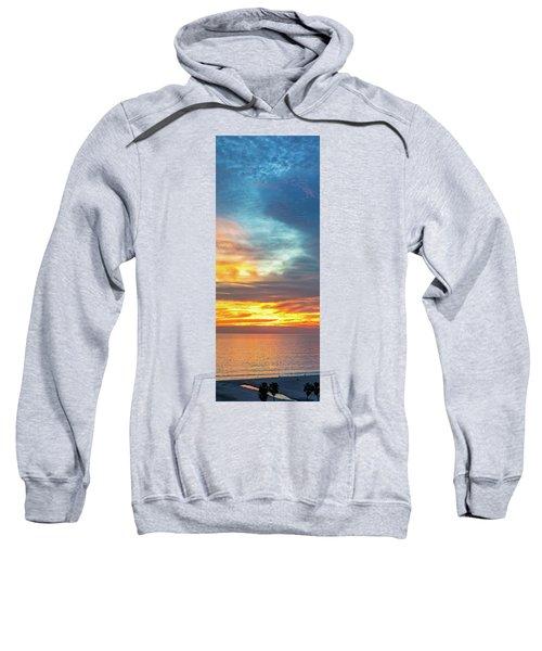 January Sunset - Vertirama Sweatshirt