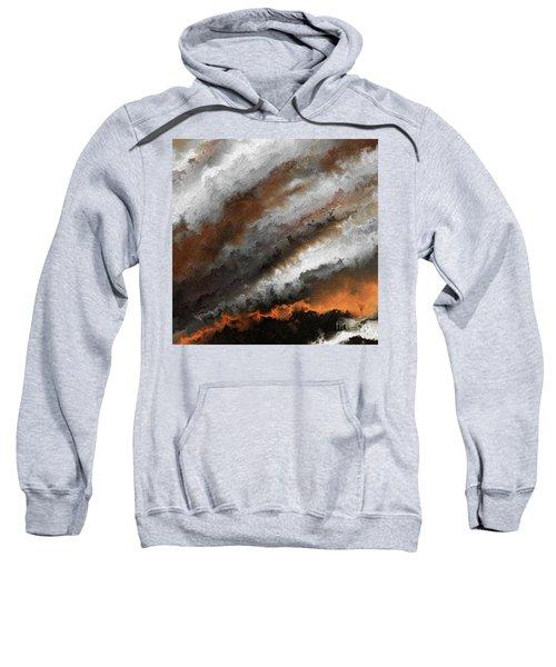Jeremiah 20 9 Fire In My Heart Sweatshirt
