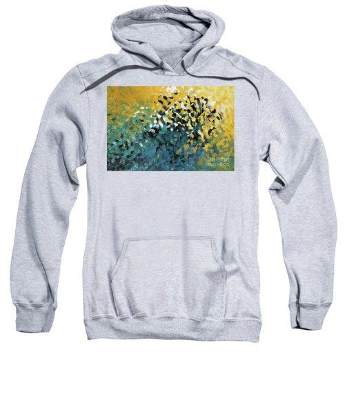 John 8 12. The Light Of Life Sweatshirt