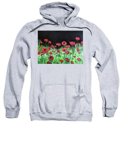 Jon's Poppies Sweatshirt