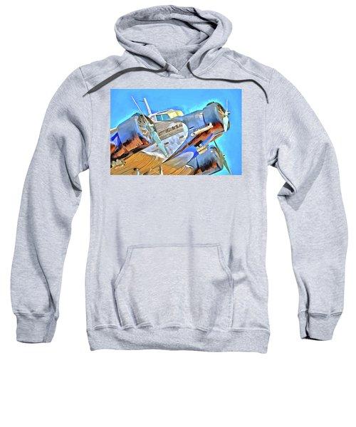 Junkers Ju 52 Pop Art Sweatshirt