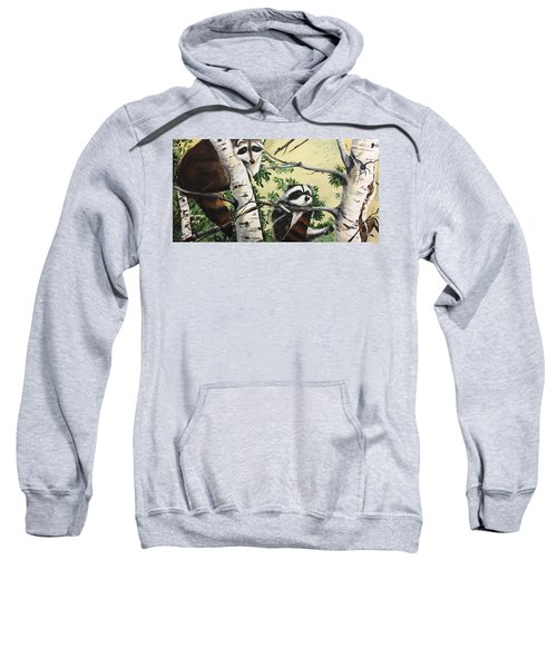 Just Hanging In There  Sweatshirt