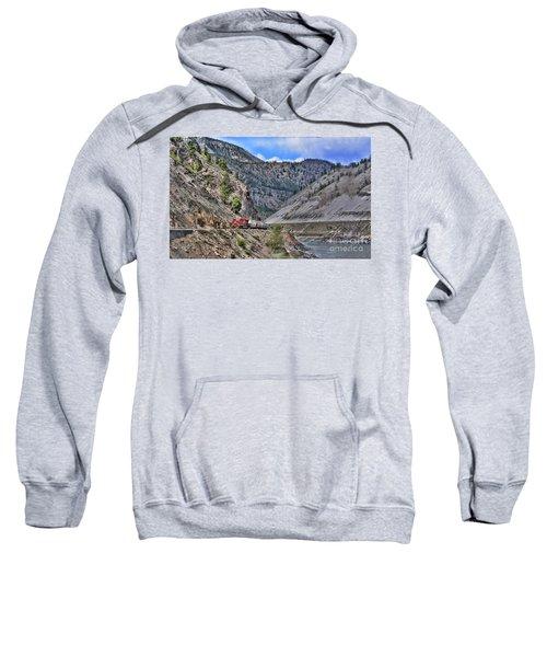 Just Passing Through Sweatshirt