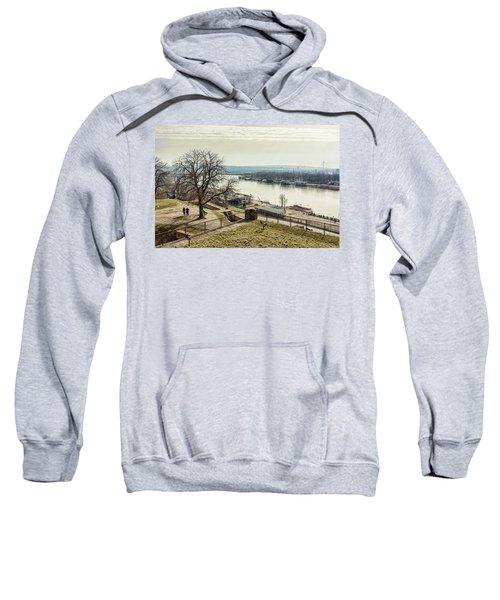 Kalemegdan Park Fortress In Belgrade Sweatshirt
