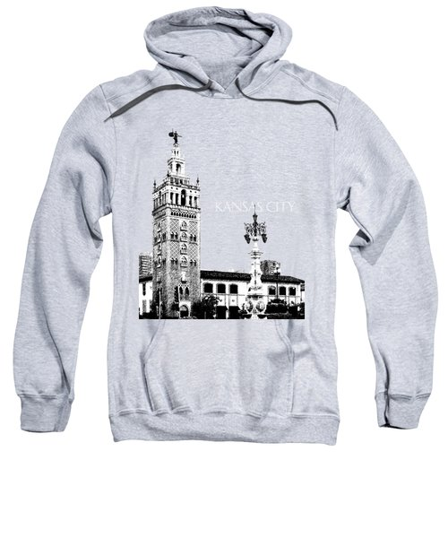 Kansas City Skyline 2 - Dark Orange Sweatshirt