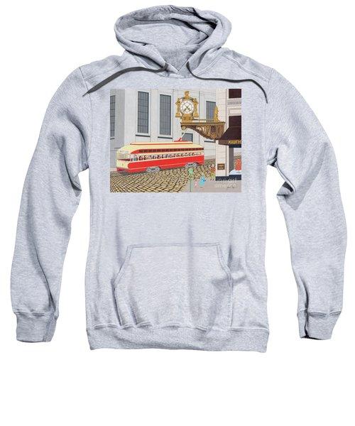 Kaufmann Clock Sweatshirt