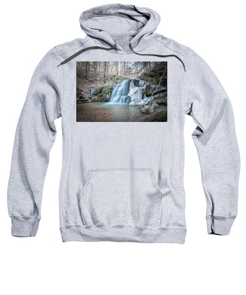 Kilgore Falls In Winter Sweatshirt