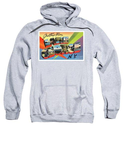 Lake George Greetings Sweatshirt