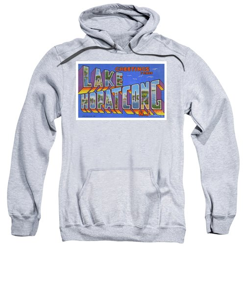 Lake Hopatcong Greetings Sweatshirt