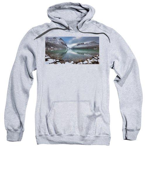 Lake Louise Winter Panorama Sweatshirt