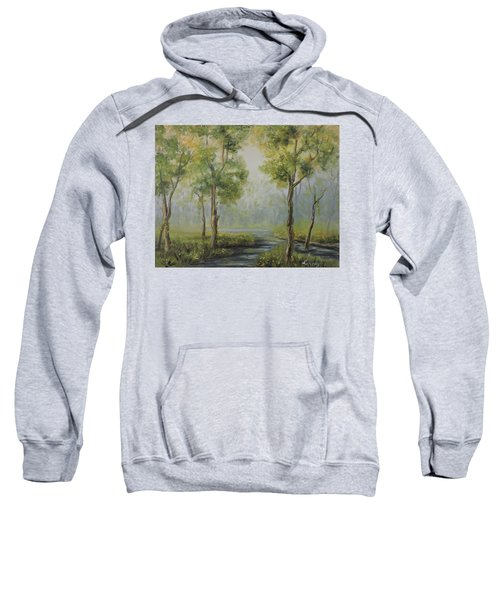 Landscape Of The Great Swamp Of New Jersey With Pond Sweatshirt