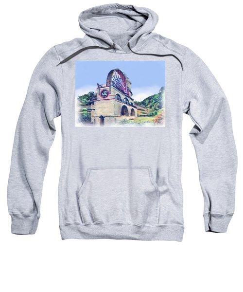 Laxey Wheel 6 Sweatshirt