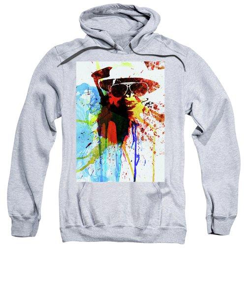 Legendary Fear And Loathing Watercolor Sweatshirt