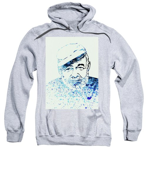 Legendary Hemingway Watercolor Sweatshirt