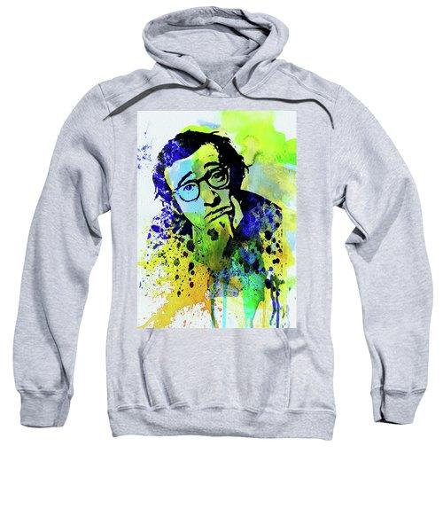 Legendary Woody Allen Watercolor Sweatshirt