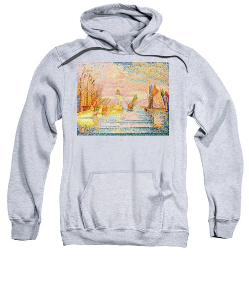 Lighthouse At Groix - Digital Remastered Edition Sweatshirt