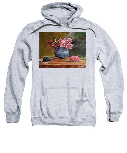 Lilacs And Pearls Sweatshirt