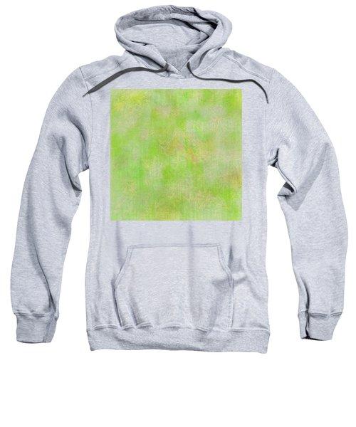 Lime Batik Print Sweatshirt