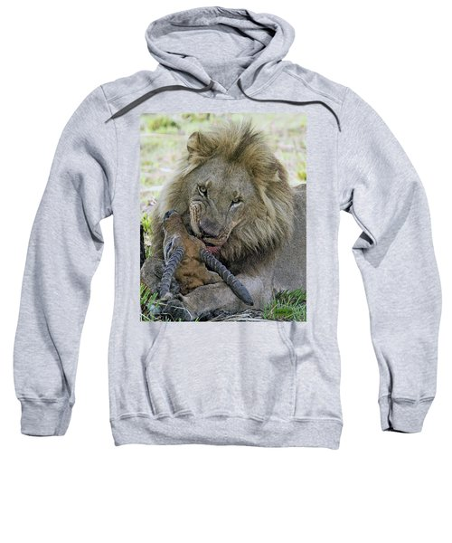 Lion Prey Sweatshirt