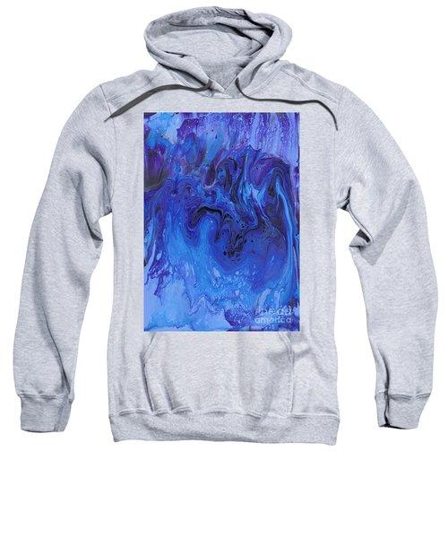 Living Water Abstract Sweatshirt