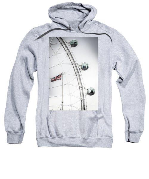 London Eye And Union Jack Sweatshirt