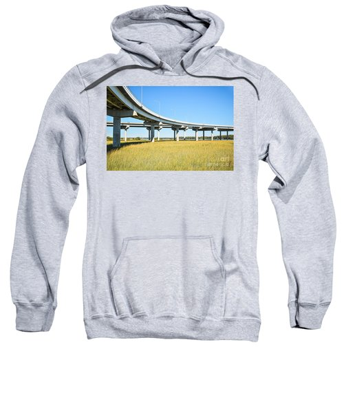 Long Concrete Bridge  Sweatshirt