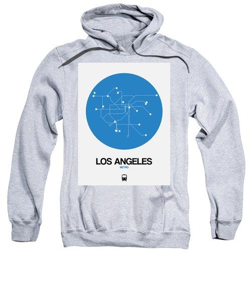San Francisco Blue Subway Map Sweatshirt