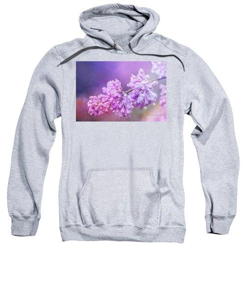 The Magic Of Lilacs In The Rain Sweatshirt