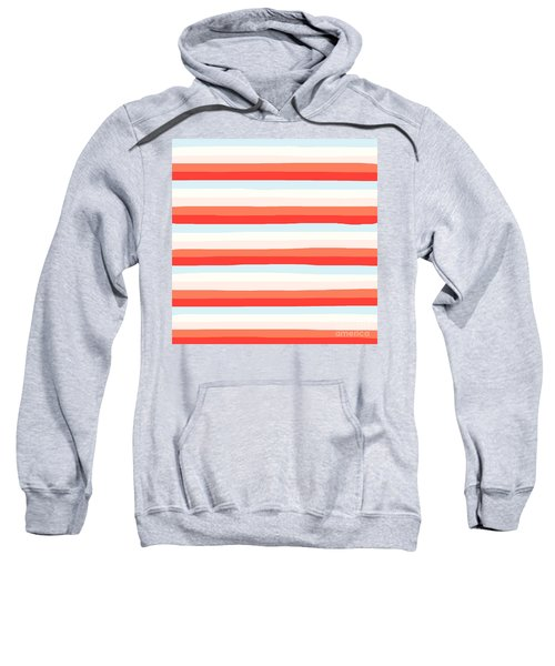 lumpy or bumpy lines abstract and colorful - QAB266 Sweatshirt