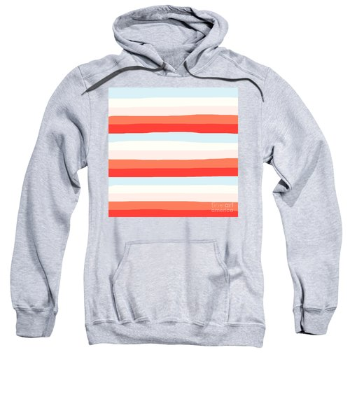lumpy or bumpy lines abstract and colorful - QAB268 Sweatshirt