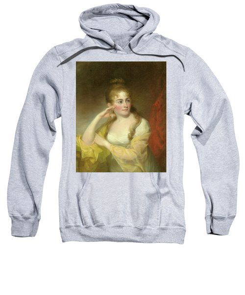 Portrait Of Lydia Leaming, 1806 Sweatshirt