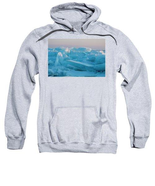Mackinaw City Ice Formations 2161807 Sweatshirt