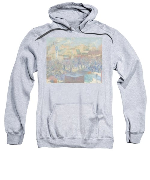 Madison Square, Snow, 1904  Sweatshirt