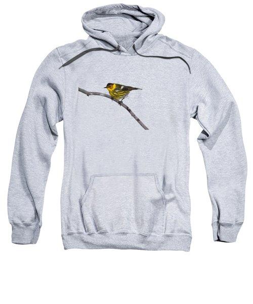 Male Cape May Warbler Sweatshirt