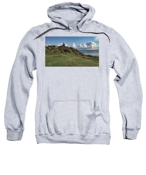 Man's Head - St Ives Cornwall Sweatshirt