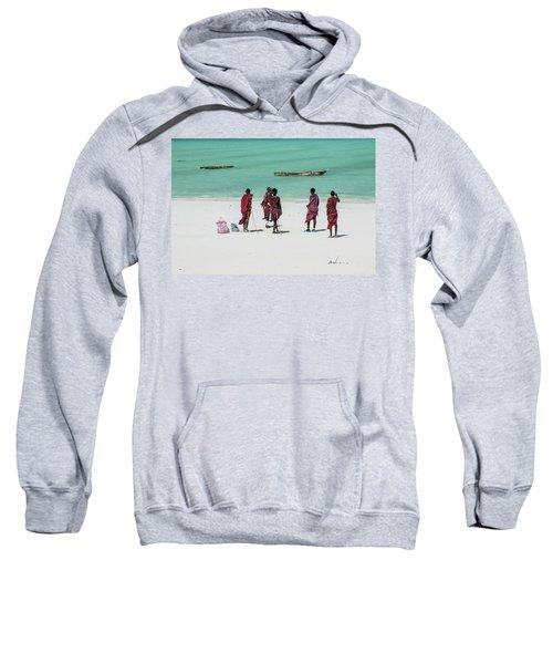 Massai At The Beach Sweatshirt