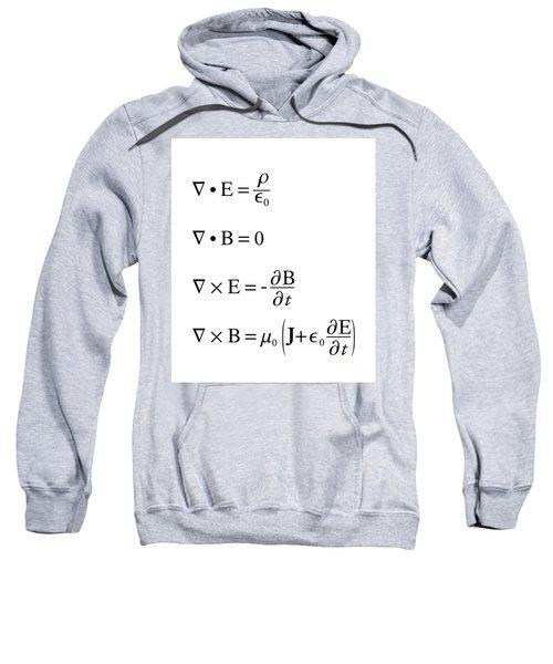 Maxwell's Equations Sweatshirt