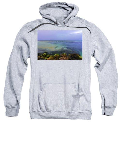 Mayan Sea Rocks Sweatshirt