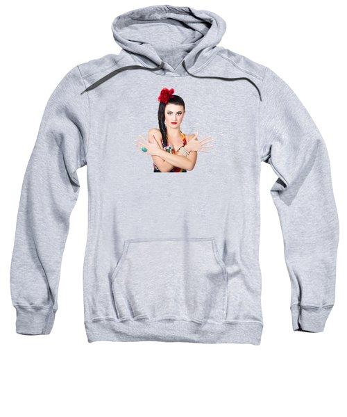 Mediterranean Woman Sweatshirt