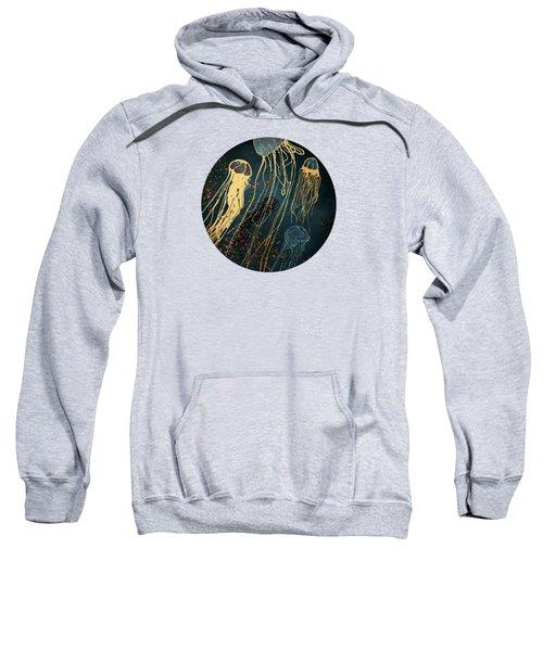 Metallic Jellyfish Sweatshirt