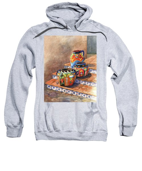 Mexican Pottery Still Life Sweatshirt