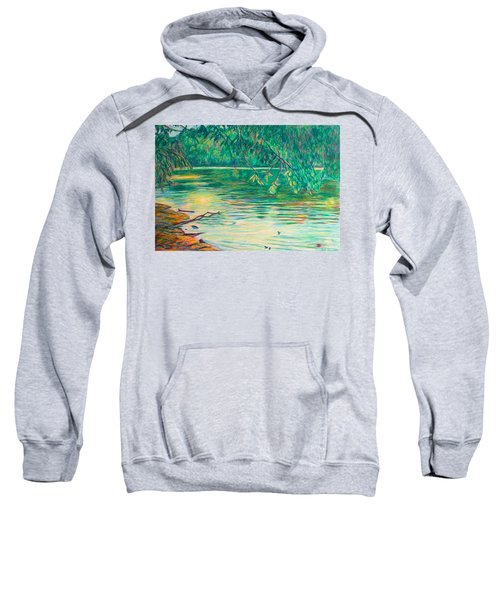 Mid-spring On The New River Sweatshirt