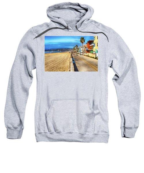 Mission Beach Boardwalk Sweatshirt