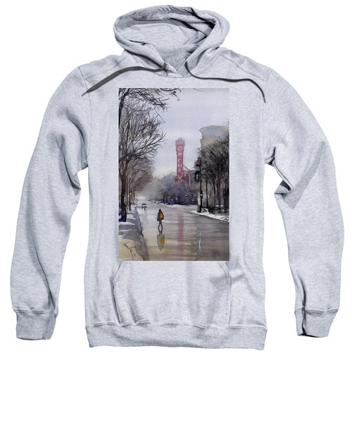 Misty Morning On Stae Street Sweatshirt