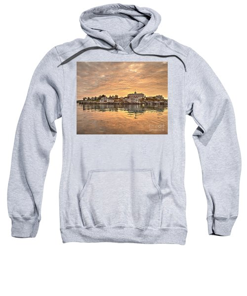 Monhegan Sunrise - Harbor View Sweatshirt